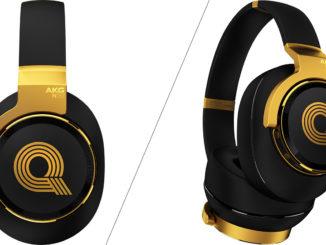 Automatic correction quality headphones AKG N90Q