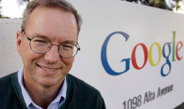 Google chairman Eric Schmidt said that the future of the Internet world will eventually disappear