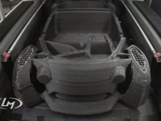 Local Motors America Introduces 3D printing electric car Strati
