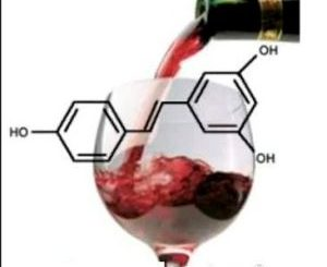 Resveratrol in red wine has health benefits
