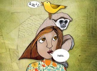 The origins of human language began manufacturing tools