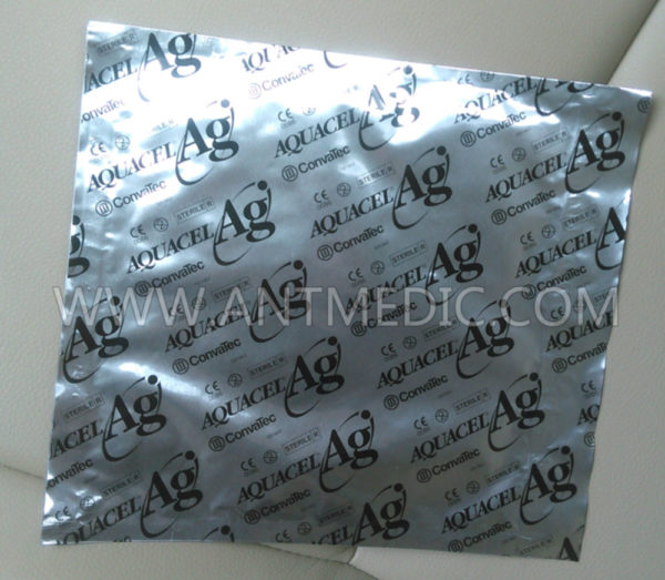 ConvaTec 403708 Aquacel Ag Hydrofiber Dressing with Silver