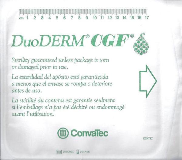 "Convatec US 187662 DUODERM CGF Wound Dressing 8"" X 8"" (20cm x 20cm)"