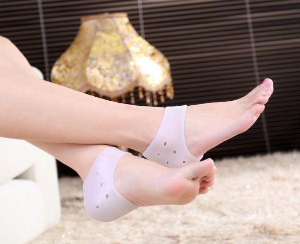Cozy Foot Care Silicone Heel Pad Thicken Relieve Heel Pain Prevention Crack