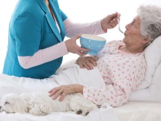 Nutrition diet for long-term bedridden patients